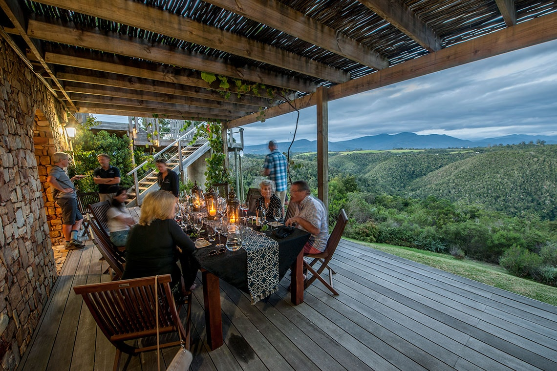 Wine Tasting Deck